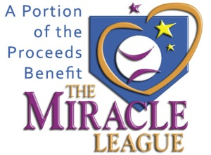 Proceeds to benefit The Miracle League
